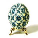Spanish Tile Art Egg