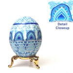 Taj Mahal Inspired Art Egg