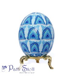 Totally Taj Mahal Art Egg